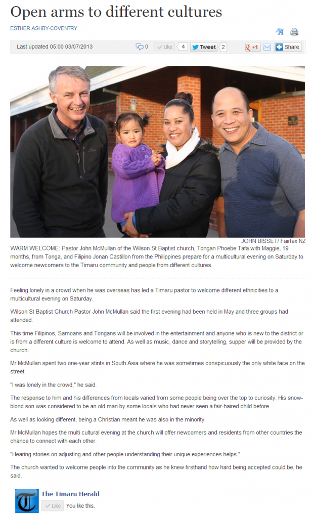 timaru multicultural response ministry