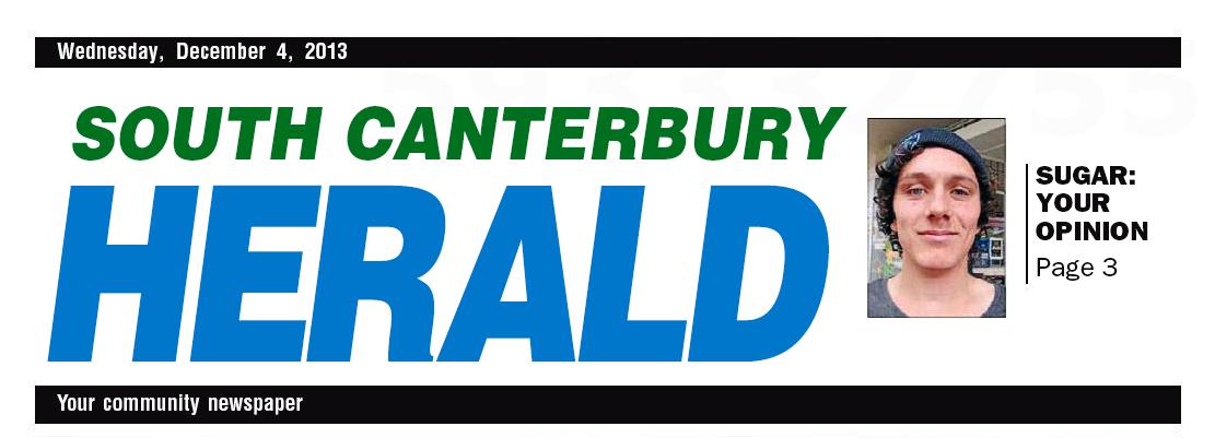 South Canterbury Herald Masthead