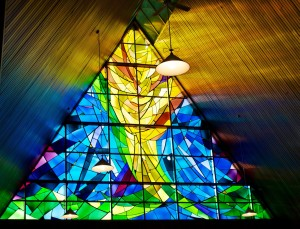 Wilson Street Baptist Church Stained Glass Window by Ross Waugh