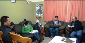 Holding Bible Study at a Home in Otaio