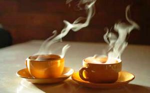 Hot Steaming Tea