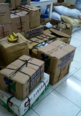 Endorsed for repacking and distribution by Boholunteers
