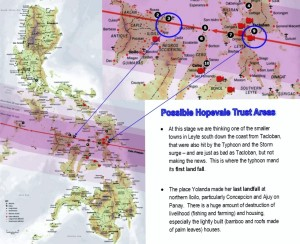 Help Philippines Eyes Sending Donation to Panay and Leyte Islands