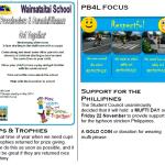 Waimataitai School mufti day for Philippines