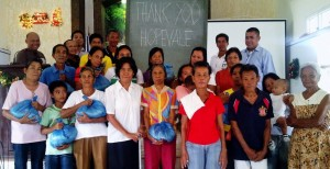 Help Philippines Update – Relief Goods Distributed in Ajuy, Iloilo