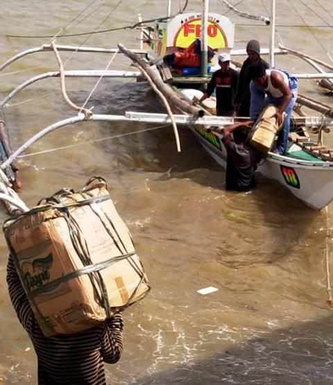 Relief goods to Malangabang Concepcion Iloilo 3