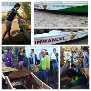 Help Philippines Update – Country Women's Institute Donates to Boat-Building Project