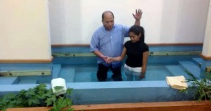Baptism Event at Wilson Street Baptist Church