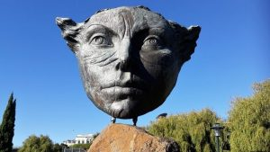 Face of Peace at Caroline Bay Timaru