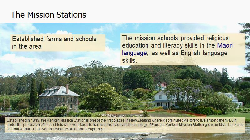 NZ Local Mission – History Snippets and Reflection