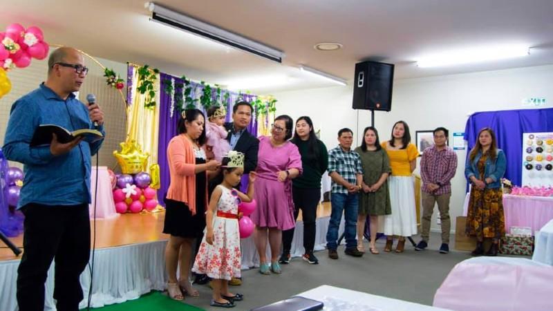Celebrating a Child Dedication in Ashburton NZ
