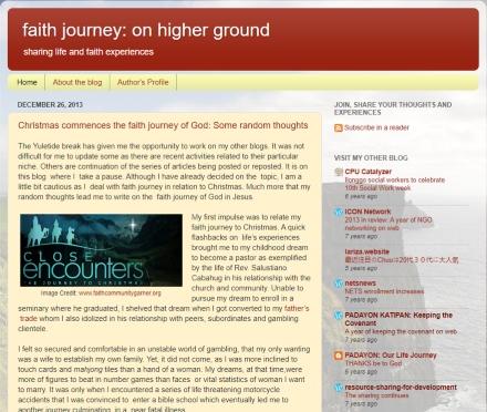 faith journey