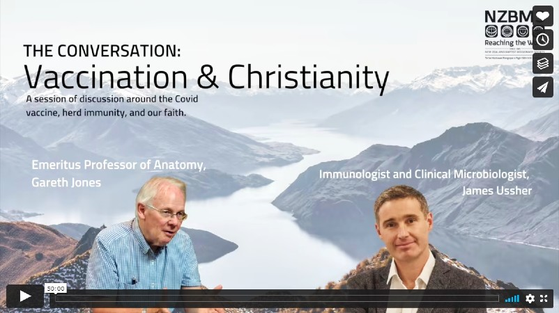 Vaccination and Christianity Conversation – Please Take the Time to Watch